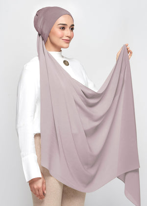 Chiffon Dolce in Ash Taupe (Semi-Instant)