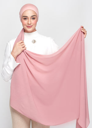 Chiffon Dolce in Dusty Pink (Semi-Instant)
