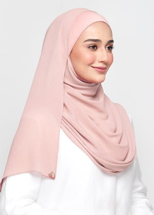Chiffon Dolce in Flamingo Pink (Semi-Instant)