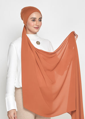 Chiffon Dolce in Honey Orange (Semi-Instant)