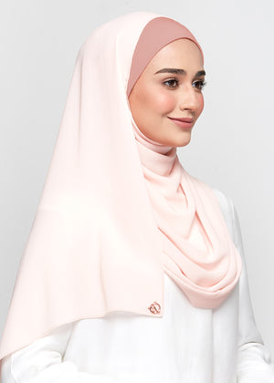 Chiffon Dolce in Rose Peach (Semi-Instant)