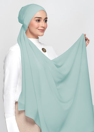 Chiffon Dolce in Turkish Blue (Semi-Instant)