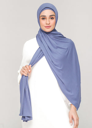 Discontinued Item: Cozy Set in Dusty Periwinkle
