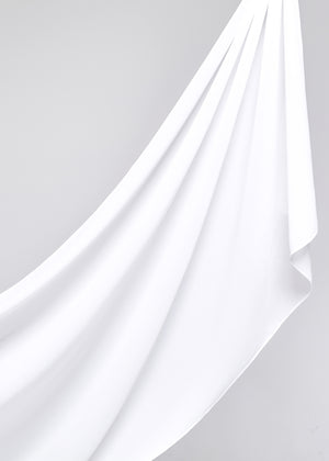 Basic Chiffon in Bridal White