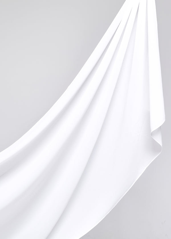 Discontinued Item: Basic Chiffon in Bridal White