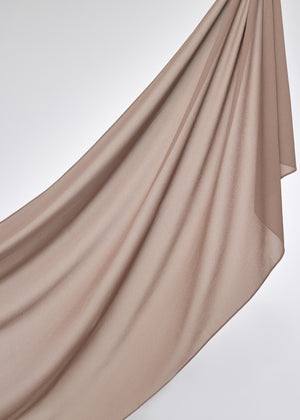 Basic Chiffon in Brown Taupe