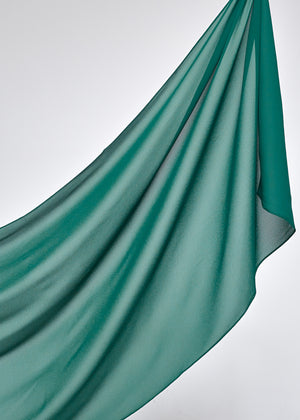 Basic Chiffon in Emerald Green