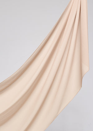 Basic Chiffon in Nude