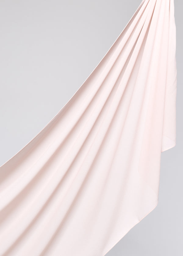Basic Chiffon in Parchment Nude
