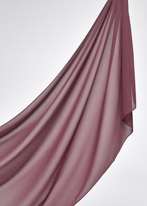 Basic Chiffon in Plum
