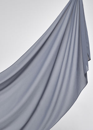 Basic Chiffon in Steel Grey