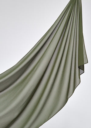 Basic Chiffon in Wild Olive