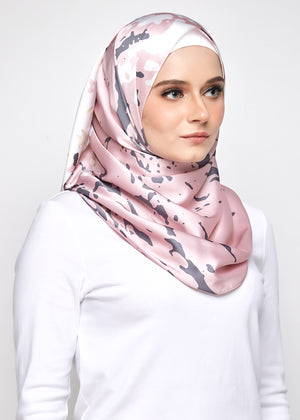 YES DEFECT: Marble Thalia in Dusty Pink