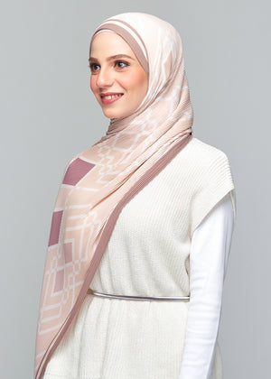 NS: MONOLUX PLEATED in Mocha Peach