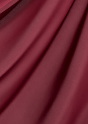 Discontinued Item: Satin Diamond in Mulberry Red