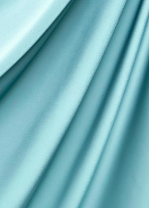 Satin Diamond in Sea Green