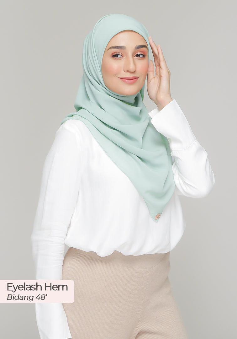 BAWAL DIOR in Mint Green (Cotton Voile)