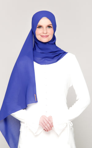 NEW: Premium Voile in Royal Blue