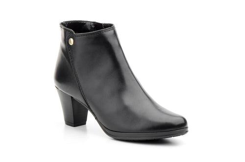 Agatha Leather Booties (Women)