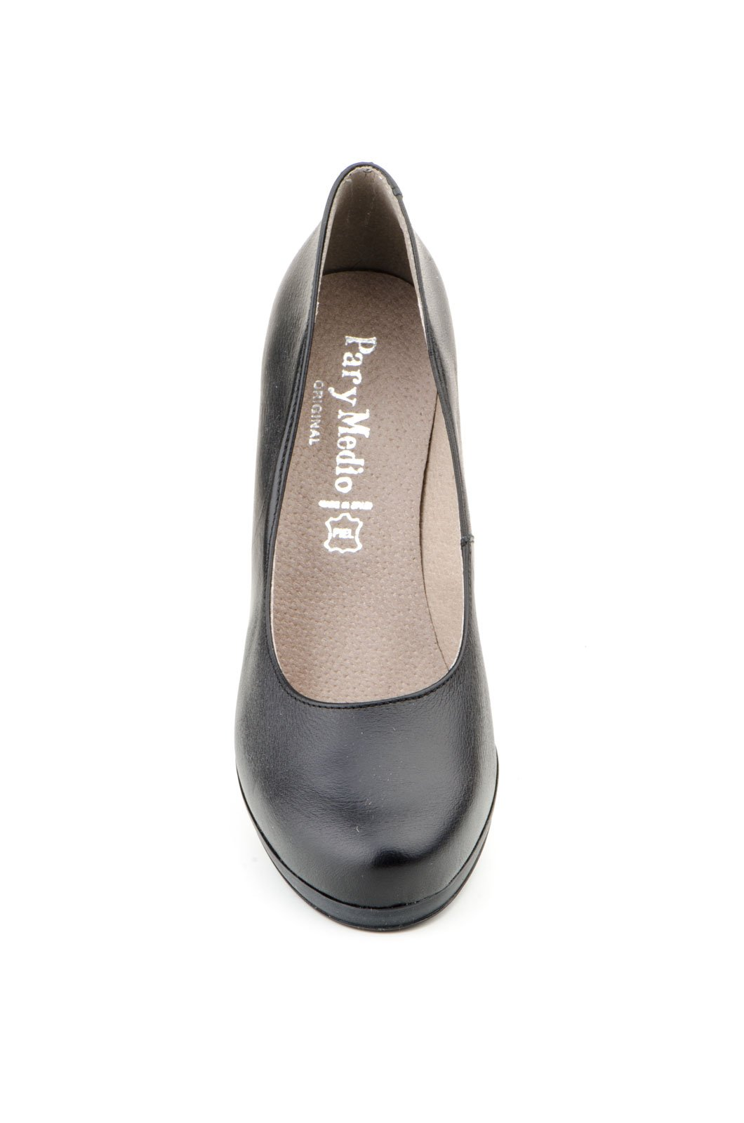 PAR-LEATHER PUMP-MADE IN SPAIN