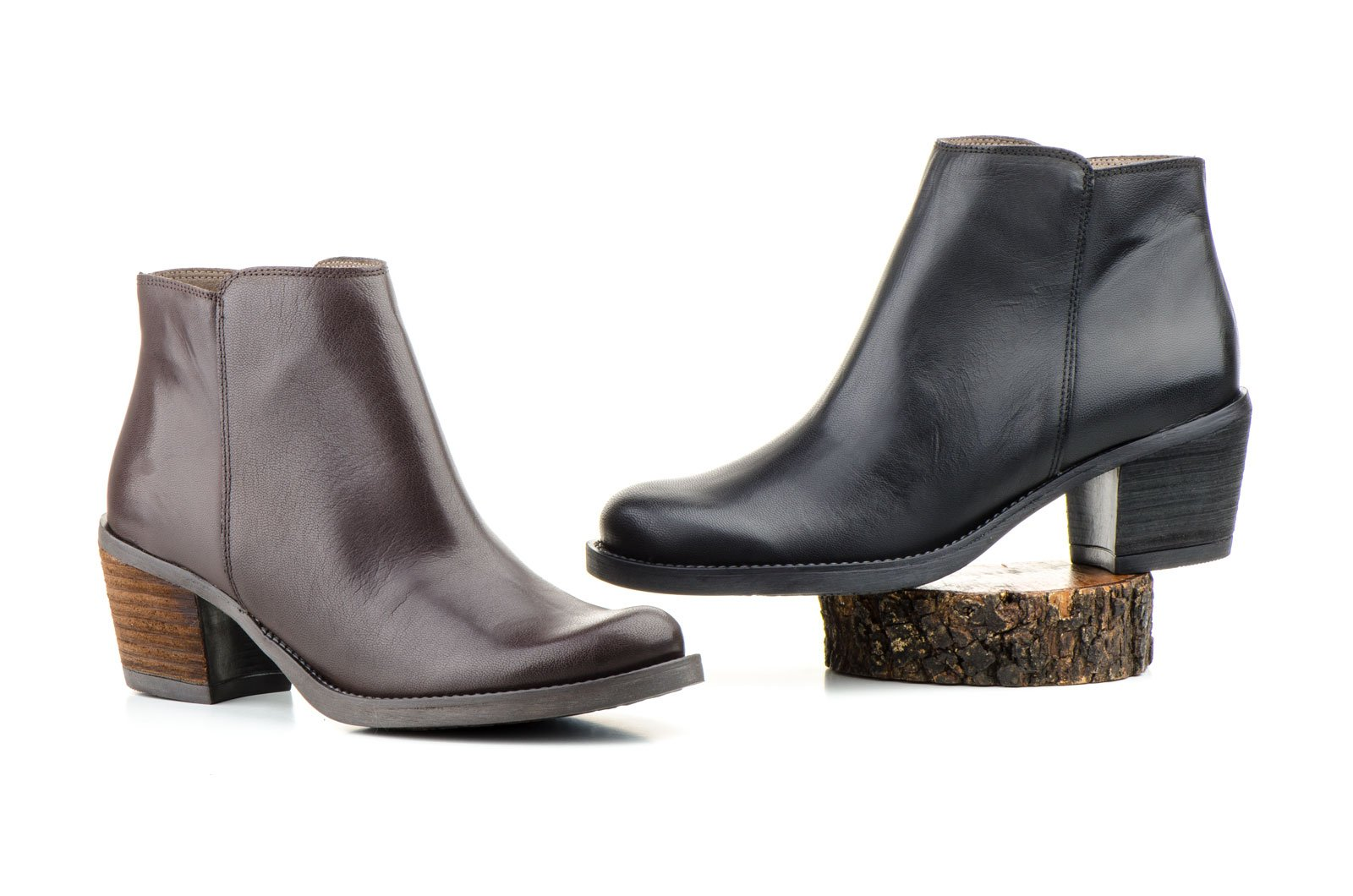 MYLTHO-LEATHER BOOTIES-MADE IN SPAIN