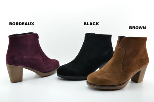 Digo Leather Booties (Women)