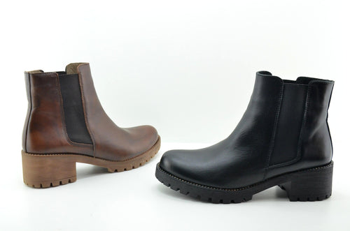 YAKU'S - LEATHER BOOTIES - MADE IN SPAIN