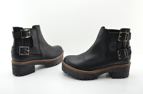 VIDO-LEATHER BOOTIES-MADE IN SPAIN