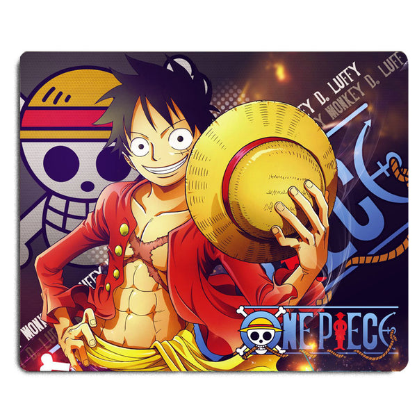 "9.5x8"" Anime One Piece Pirates Water Resistant Mouse Pad Mouse Mat"