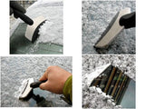 Vehicle Car Stainless Removal Snow Ice Shovel Scraper Defroster Wovel Spade