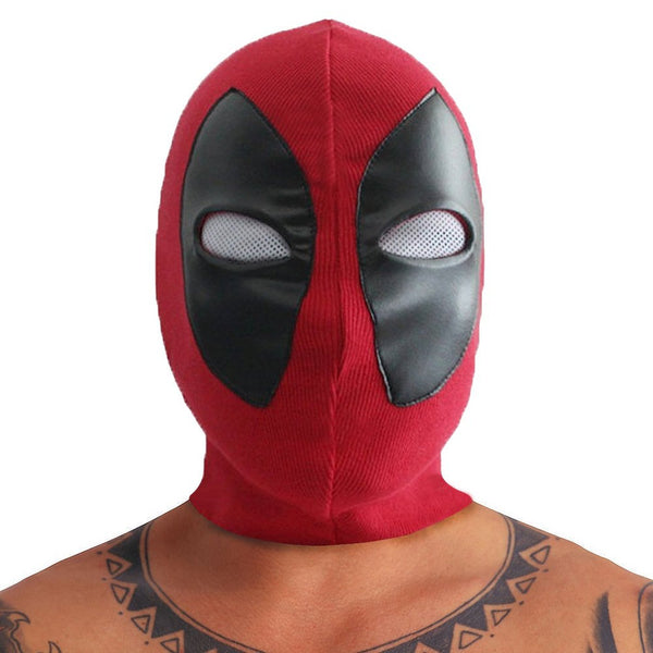 Marvel Comics Deadpool Custom Cosplay Mask