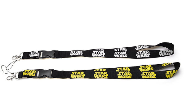 Novelty Star Wars Lanyard ID Holder Keychain