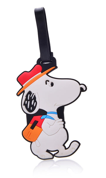 Heavy Duty Snoopy Baggage Luggage Tag