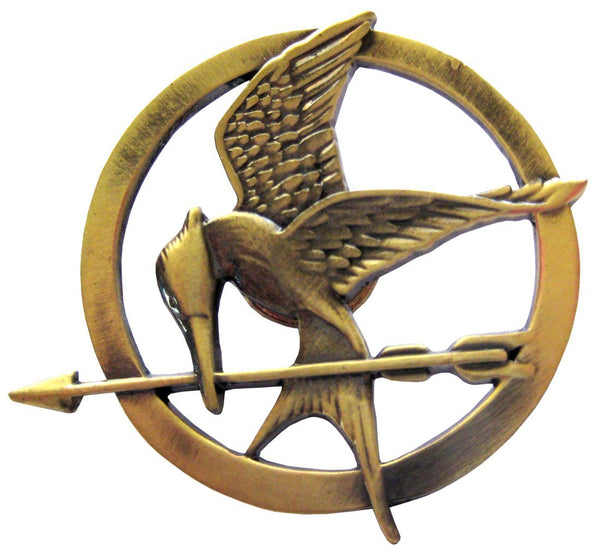 The Hunger Games Movie Catching Fire Mockingjay Metal Pin