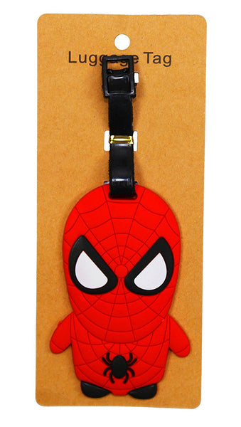 Spiderman Heavy Duty Baggage Luggage Tag