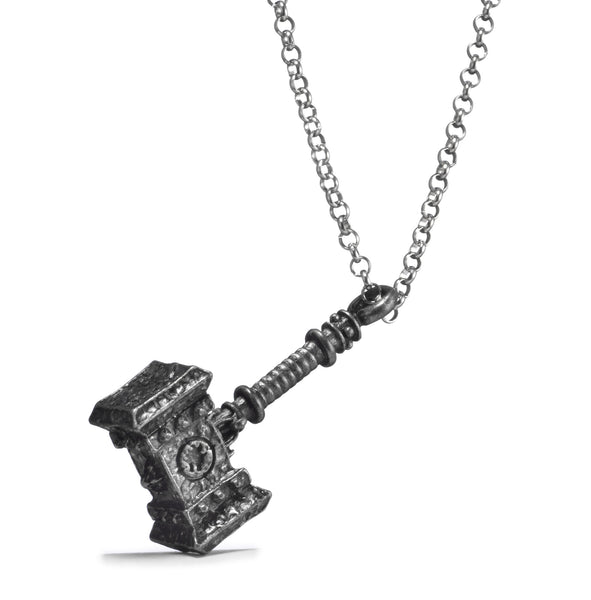 World of Warcraft Orgrim Doomhammer Metal Pendant Necklace