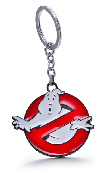 Movie Ghostbusters Logo Metal Pendant Keychain