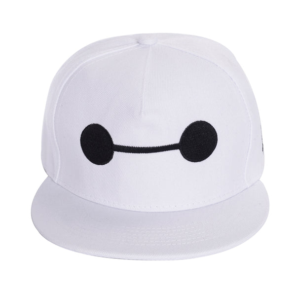 Movie Big Hero 6 White Baymax Hat Baseball Cap