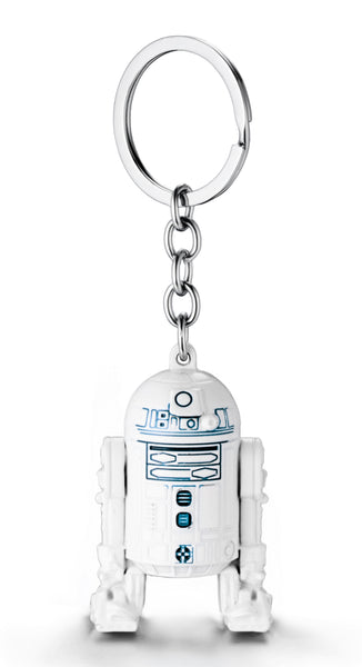 Star Wars Character R2-D2 Metal Pendant Keychain Figure