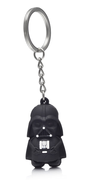 Star Wars Darth Vader Stormtrooper Rubber Keychain