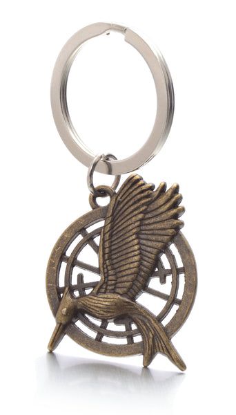 The Hunger Games Movie Catching Fire Mockingjay Metal Keychain
