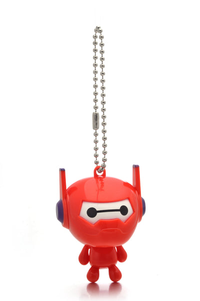 Big Hero 6 Toy Baymax Figure Movable Joints Pendant Keychain