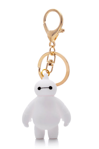 Big Hero 6 White Baymax Keychain