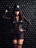 Sexy Wild Slutty Cop Uniform Complete Costume Set Nightie Racy Lingerie