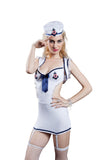 Women Sexy Military Uniform Complete Costume Set Nightie Racy Lingerie