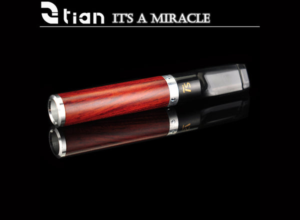 Sanda Wood Reusable Circulating Filter Direct Pull Reduce Tar Smoke Cigarette Holder