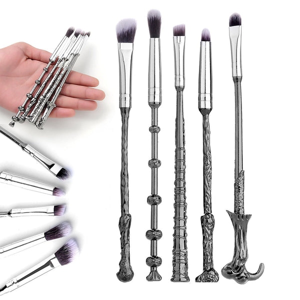 Harry Potter Fans Brush Harry Potter Wizard Wand Make up Brush Set