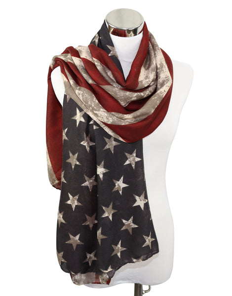 Premium American Flag Scarf 7 Styles