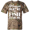 Image of Women Want Me Short Sleeve Camouflage T-Shirt