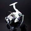 Image of Fishing Spinning Reel 12+1 Bearing Balls Spinning reel Super Strong fishing reel 5.5:1 Carp Fishing Spinner For Fishing